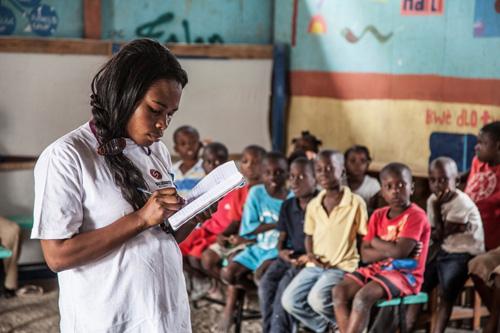 Keziah-Joseph---Journée-mondiale-de-leau-Haiti-2015-3