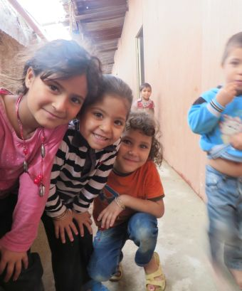enfants réfugiés syriens au liban