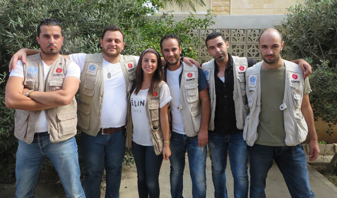 liban équipe humanitaire solidarités international