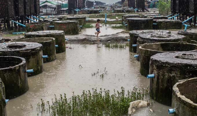 MYANMAR points d'eau