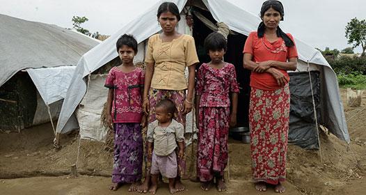 famille rohingyas