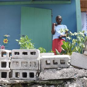 Approche urbaine, quartier Christ-Roi à Port aux Prince, Haïti