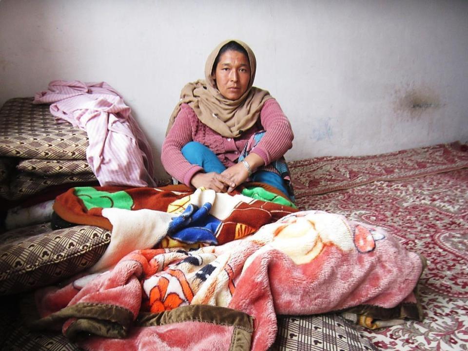 Gulali retournée afghane non-documentée