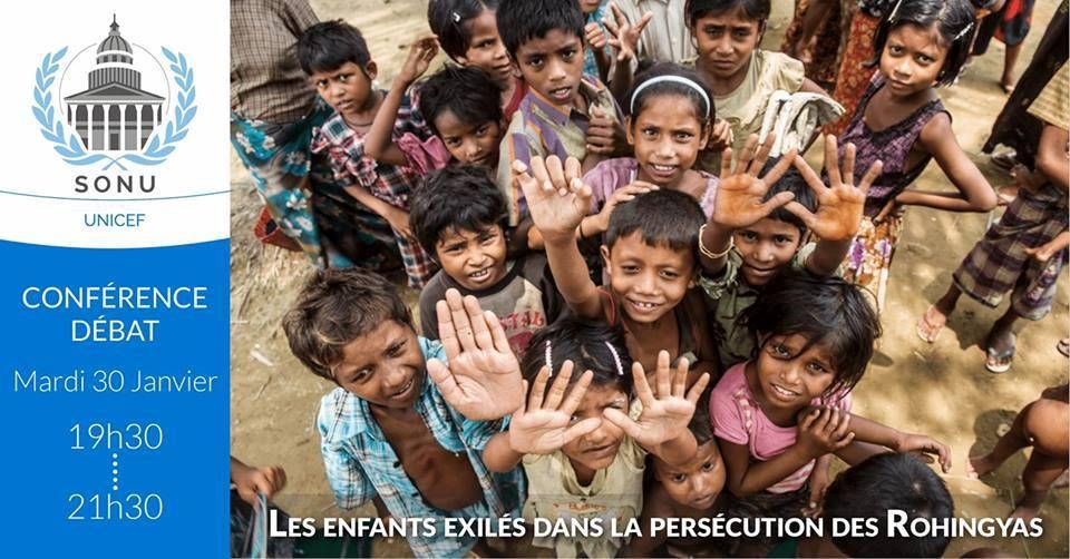 Conférence Rohingyas Sorbonne