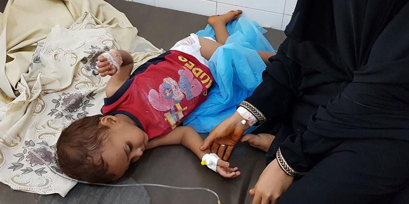 yemen enfant hopital