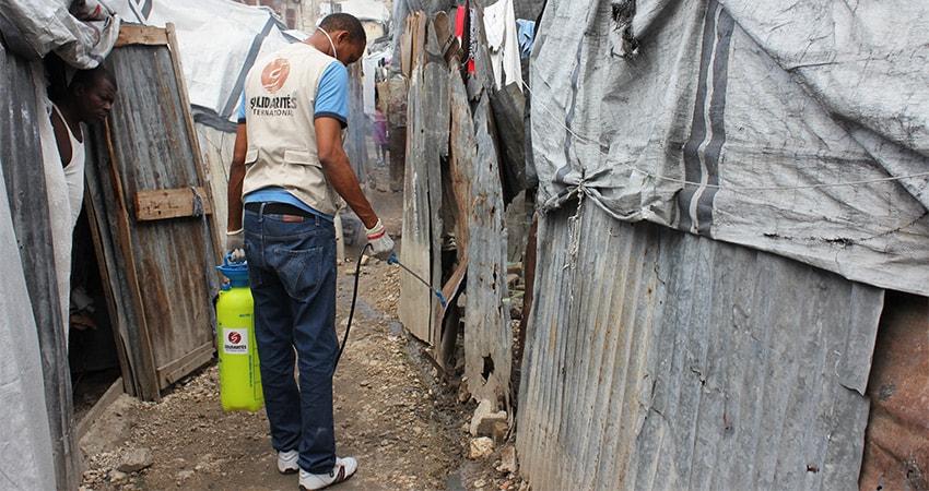 haiti cholera chloration