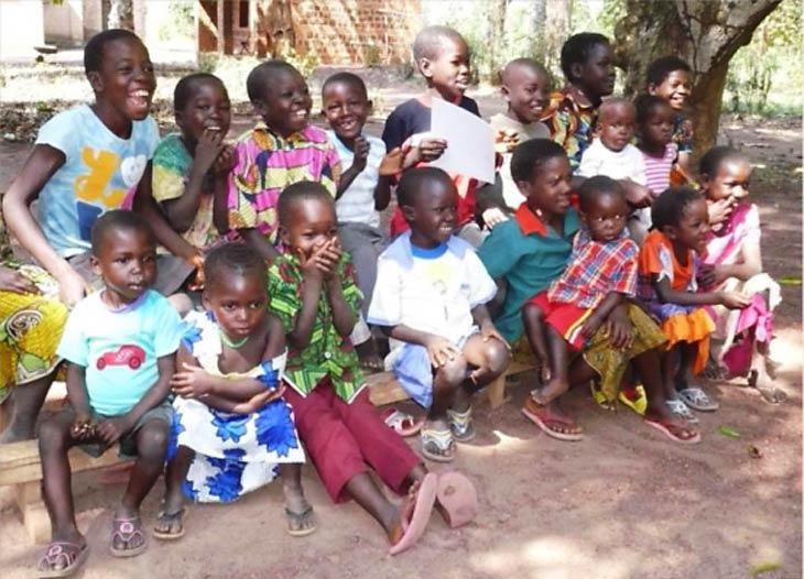 Riimenze children in South Sudan