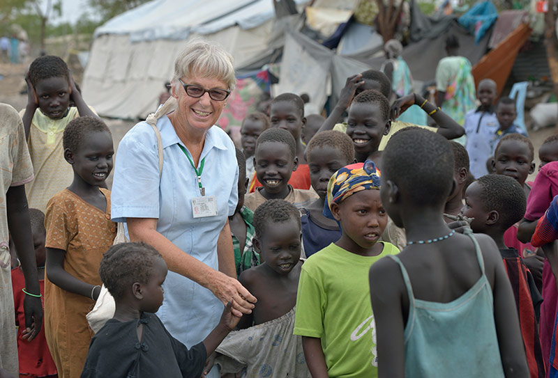 Sisters in South Sudan: Barbara Paleczny, SSND