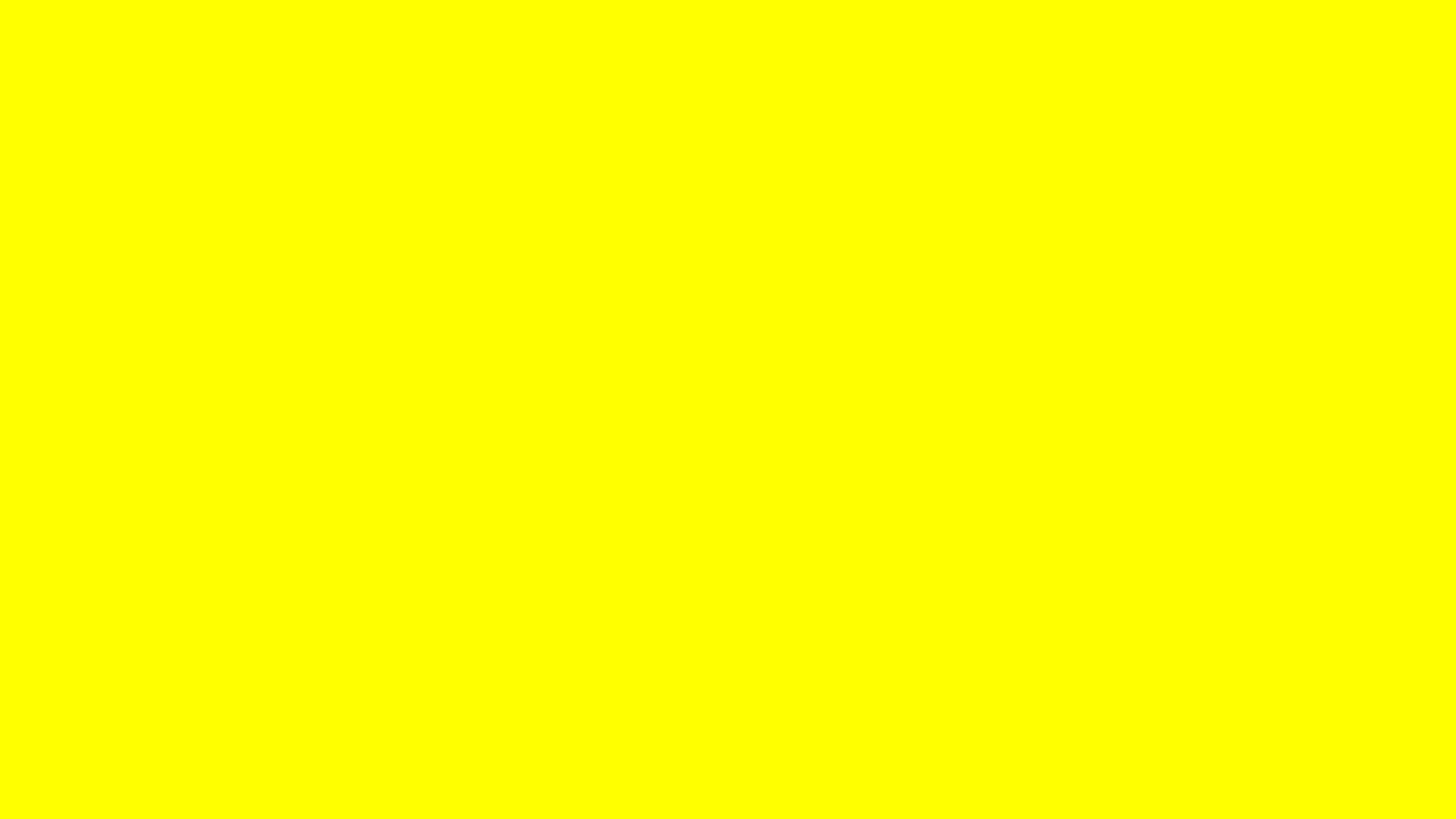 X Yellow Solid Color Background