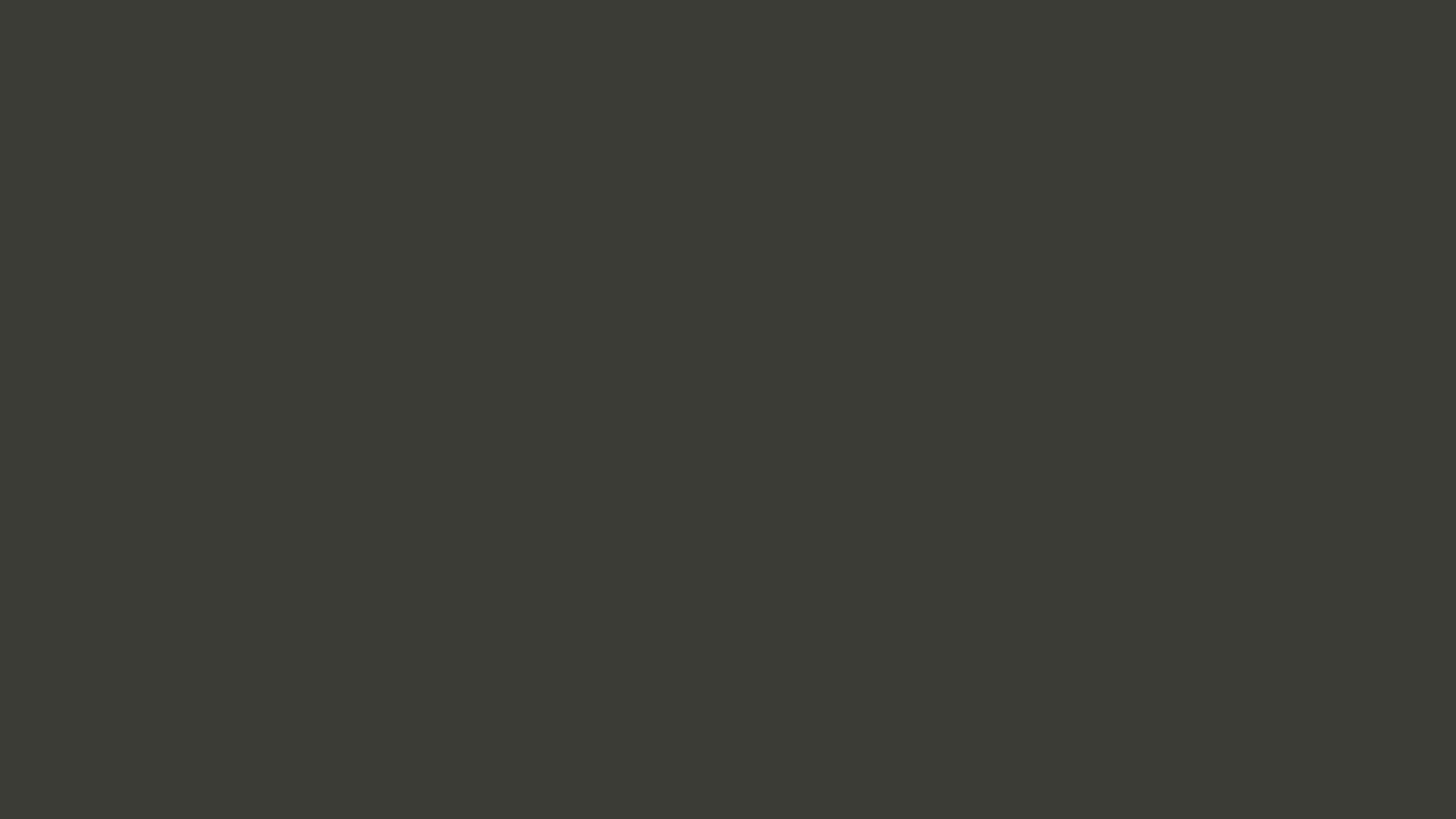 2560x1440 Black Olive Solid Color Background