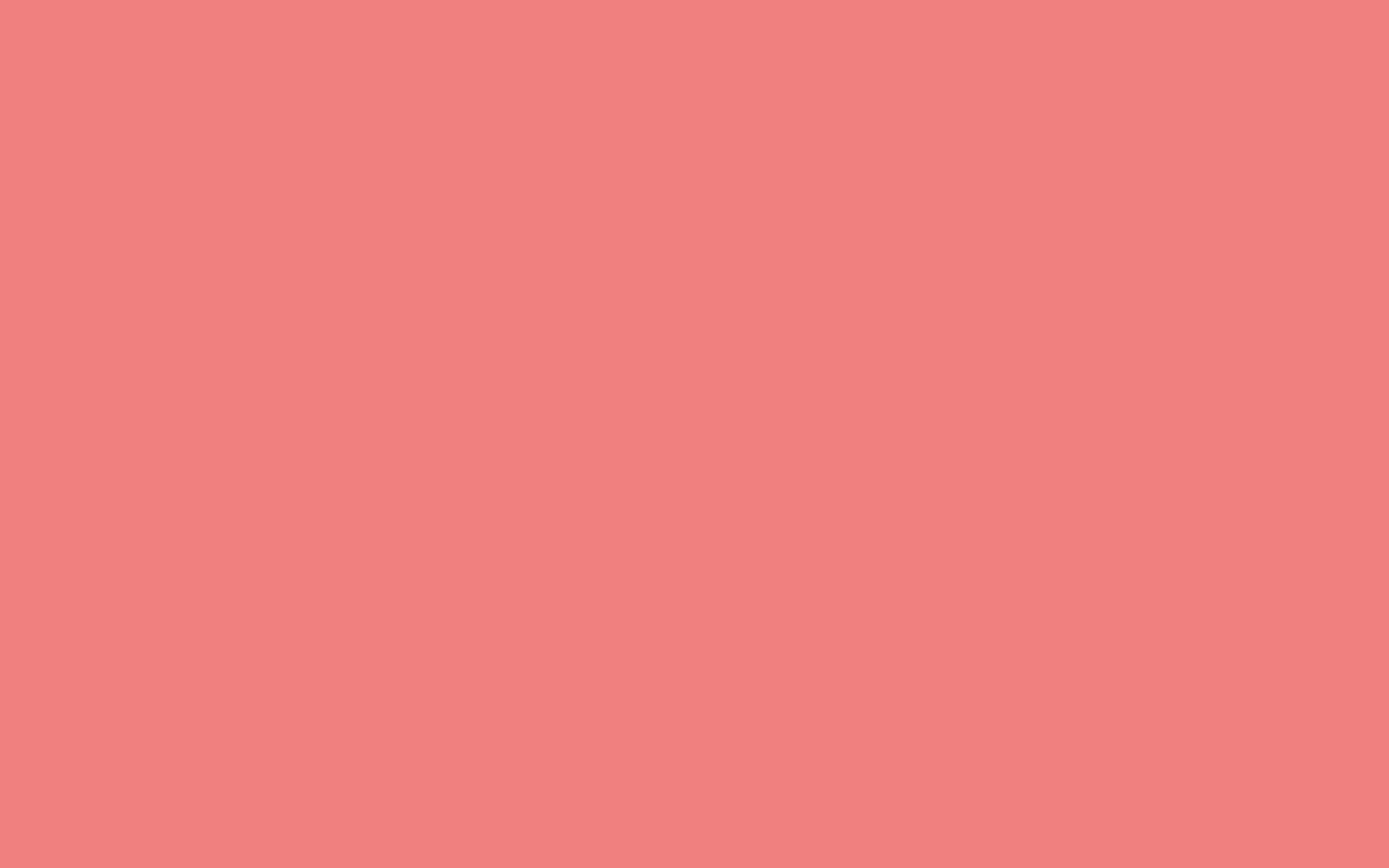 2880x1800 Light Coral Solid Color Background