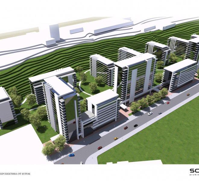Дружба 2 Сити Хоум Експо Урбанистично проучване 13