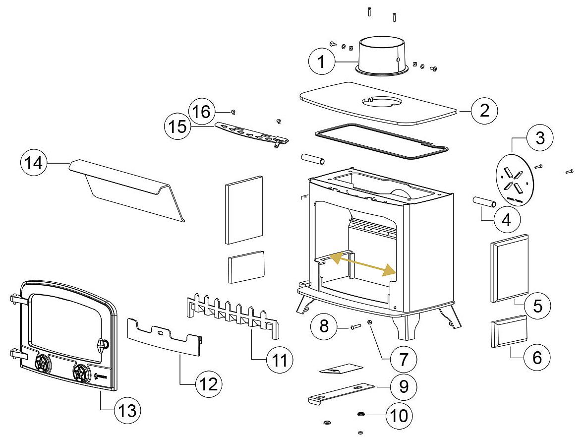 Yeoman Devon Parts Diagram