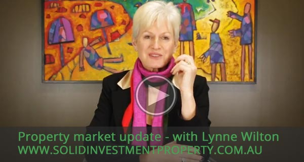 Australian Property Market update - Lynne Wilton (July 2017)