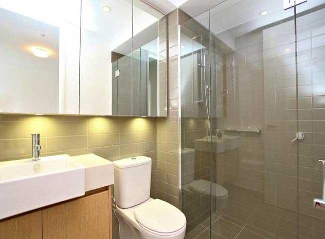 530/70 Nott Street Port Melbourne bathroom
