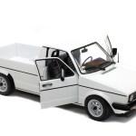 Volkswagen Caddy Mk 1 White 1982 Solido