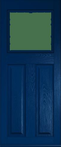 Blue Doors From Solidor Front Composite Doors