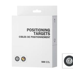 Peel 3D Positioning Targets Super Adhesive