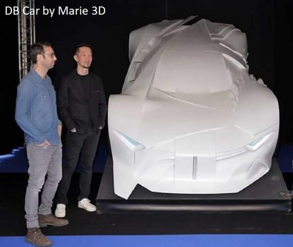 Printing a car with a Massivit 3D printer