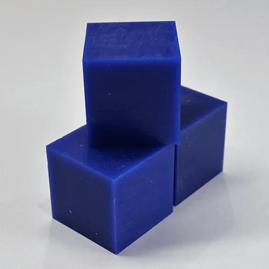 Pocket NC Blue Wax Square (3 Pack)