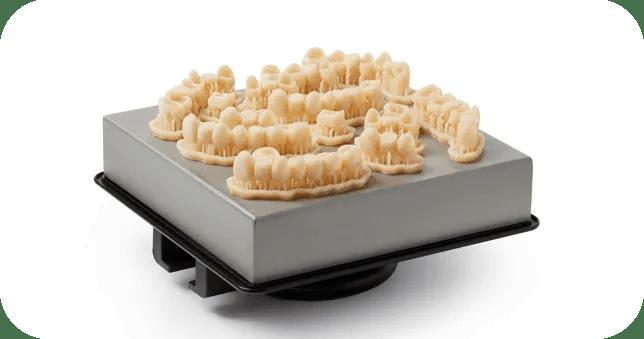 Temporary CB Resin printing crowns