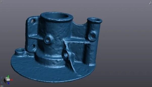 Tourer 3D Scan Model