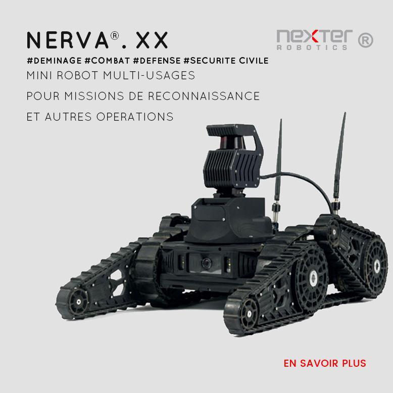 robot multi-usage léger et téléguidé