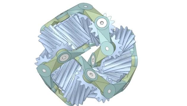 bcourter-11-gear-mobius-strip-spaceclaim