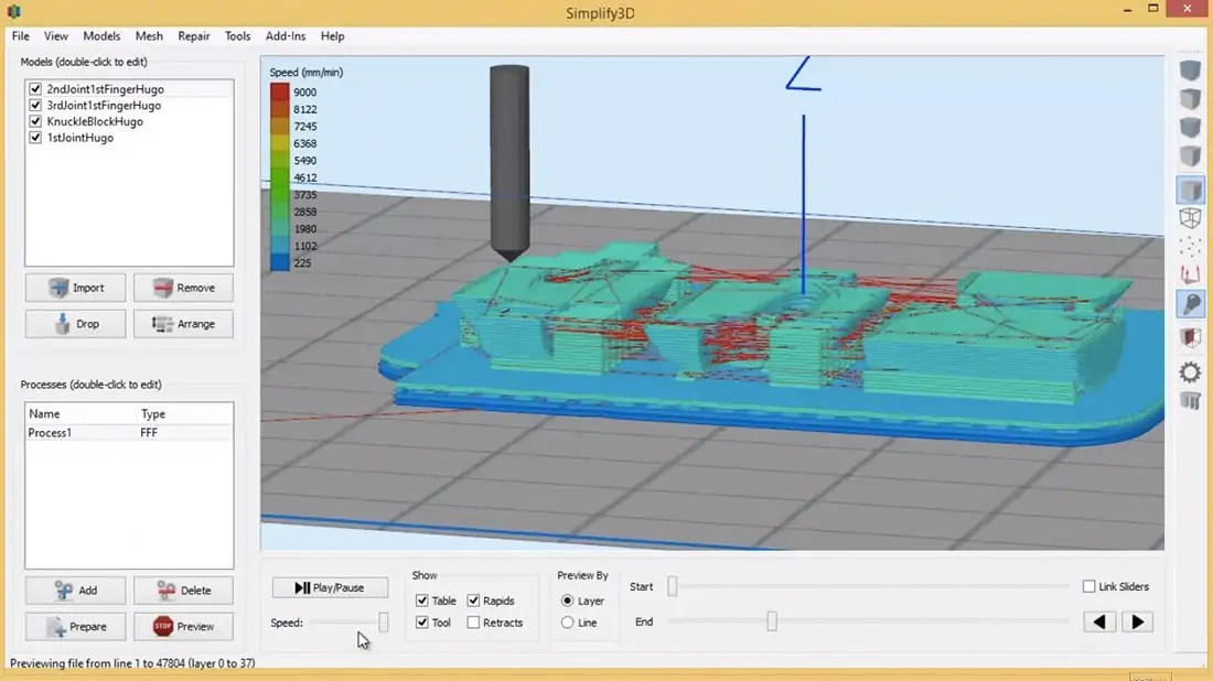 The Internet Loves Simplify3D's All-in-One 3D Printing Software