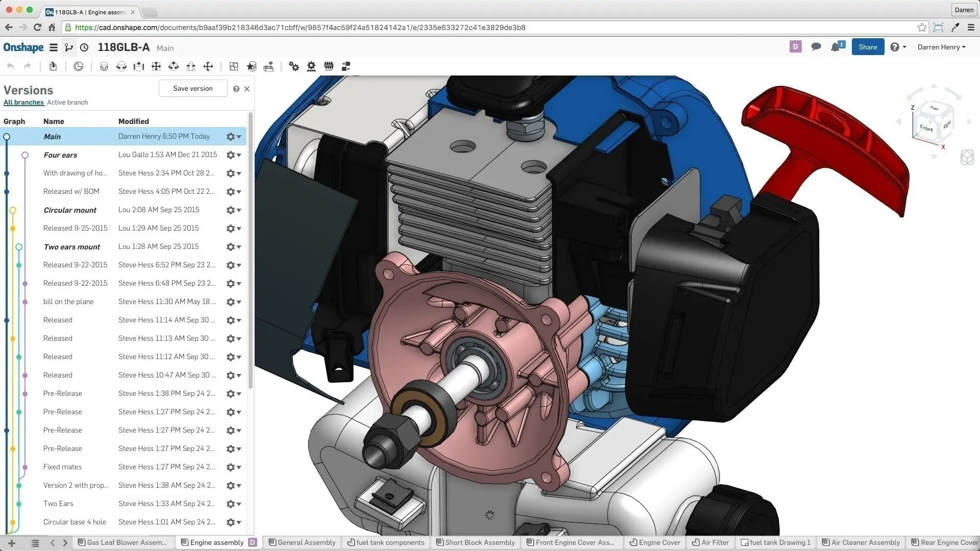 How Collaboration Works in Onshape (and 5 Reasons You Need to Try it on