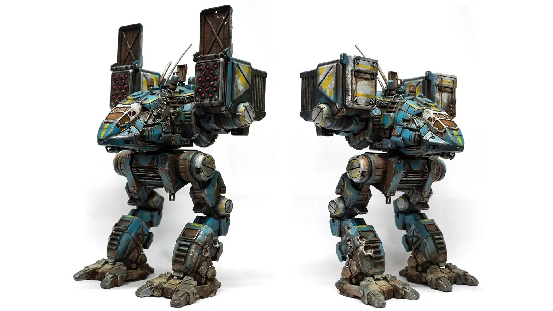 Model Of The Week Catapult MechWarrior BattleTech GO