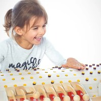 Coding Goes Analog with the Wooden Musicon Music Production Machine