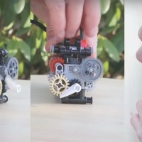 This Functioning Six-Speed LEGO Gearbox is the Ultimate Desk Toy