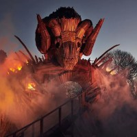 The All-New Wicker Man Is The Scariest </br>Wooden Roller Coaster You'll Ever Ride
