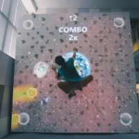 The Augmented Climbing Wall Cleverly Combines Video Games with Exercise