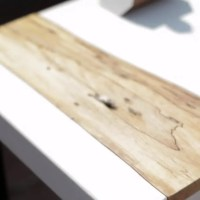 Behind the Design: Mike Clifford's Maple Wood and White Concrete Table