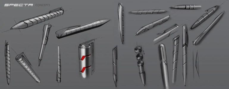 SPECTA Pen and Fidget Ball