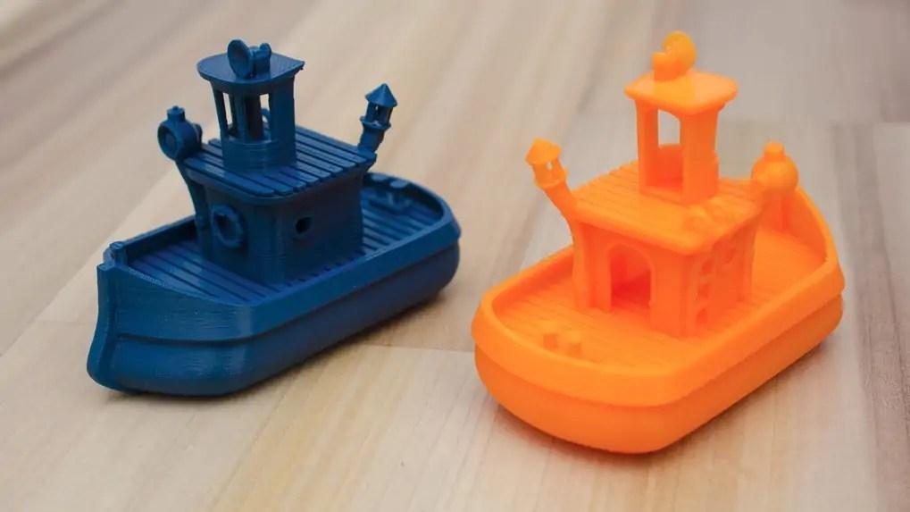 Bathtub Boat 3D printing test print