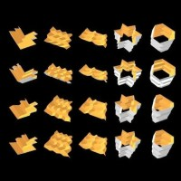 Foldstar Is Generative 3D Folded Geometry For SOLIDWORKS