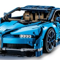 Block-Loving Car Nuts Will Find the LEGO Bugatti Chiron Right Up Their Alley