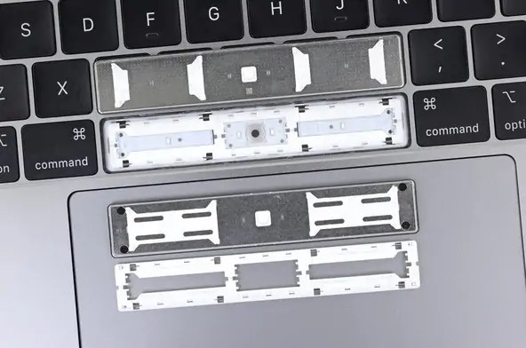 2018 Apple MacBook Pro keyboard