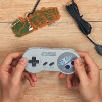 8BitDo Kits Turn Wired Retro Video Game Controllers Into Bluetooth Rechargeable Ones
