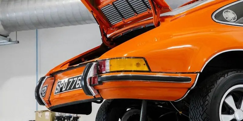 Where the Porsche Family Goes to Get Their Porsches Fixed Up