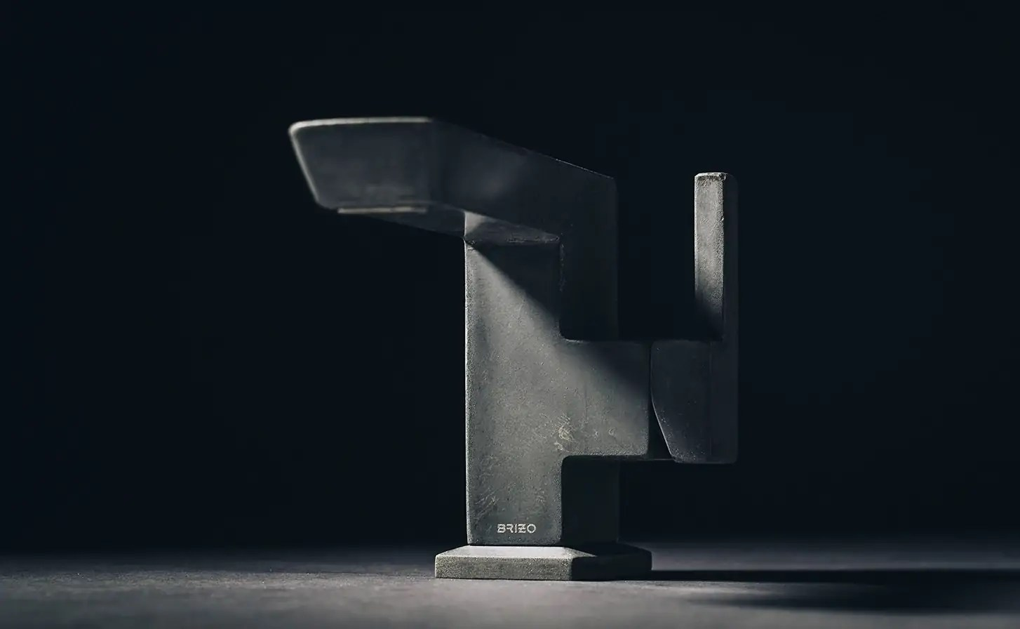 Brizo\'s Vettis Concrete Faucet is a Brutalist-Inspired Piece of ...
