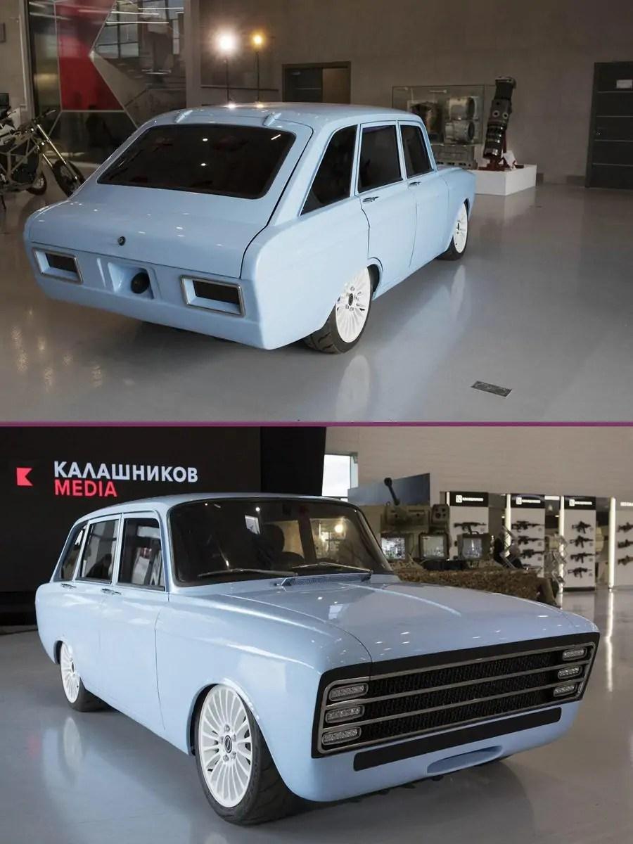 Kalashnikov car concept