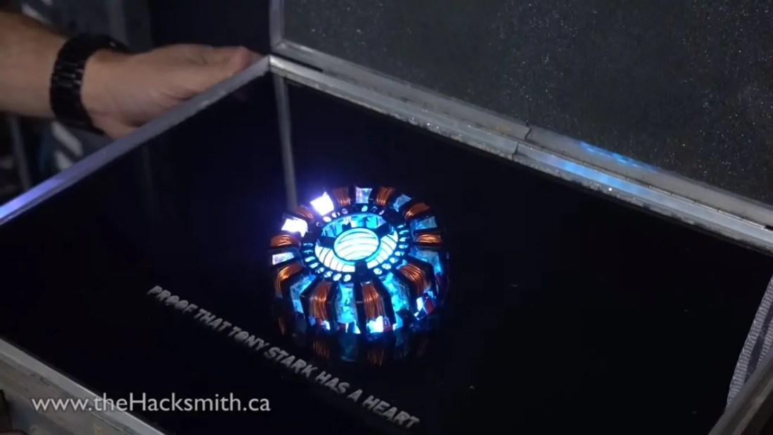 real life arc reactor