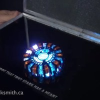This Guy Built His Own Iron Man Arc Reactor to Charge His Smart Phone