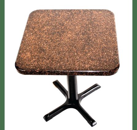 metallic embedded table tops