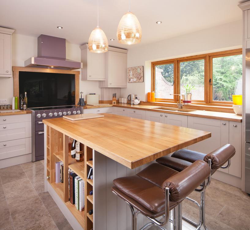 Ideal Kitchen Layout Island