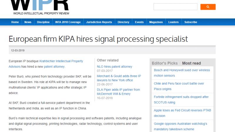 press mention kipa soliton solutions pr